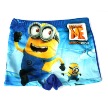 2016 Minions Boy Swimming Trunks Baby Kids Fashion Spiderman Cartoon Swimsuit Children Beach Bathing Swimwear Shorts