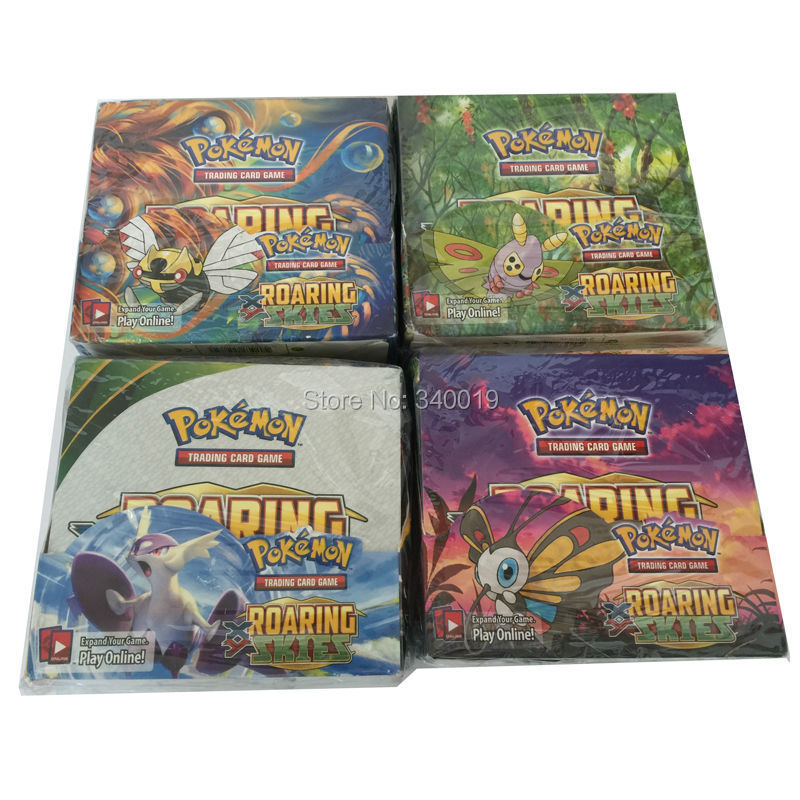 Pokemon playing Cards 324 pcs/pack English Unofficial XY version Pokemon board game send at random