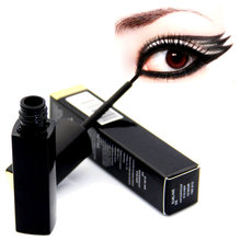 HOT 1 Pcs Brand Waterproof Liquid Eyeliner Pencil Super Black Eye Liner Pen Big Eye Gift for Girl Friend  New Arrive(China (Mainland))