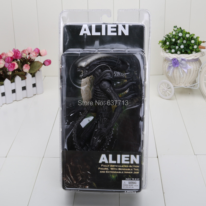 7'' Wholesale Retail Fashion New Arrival NECA Official 1979 Movie Classic Alien Action Figure Toy Doll(China (Mainland))