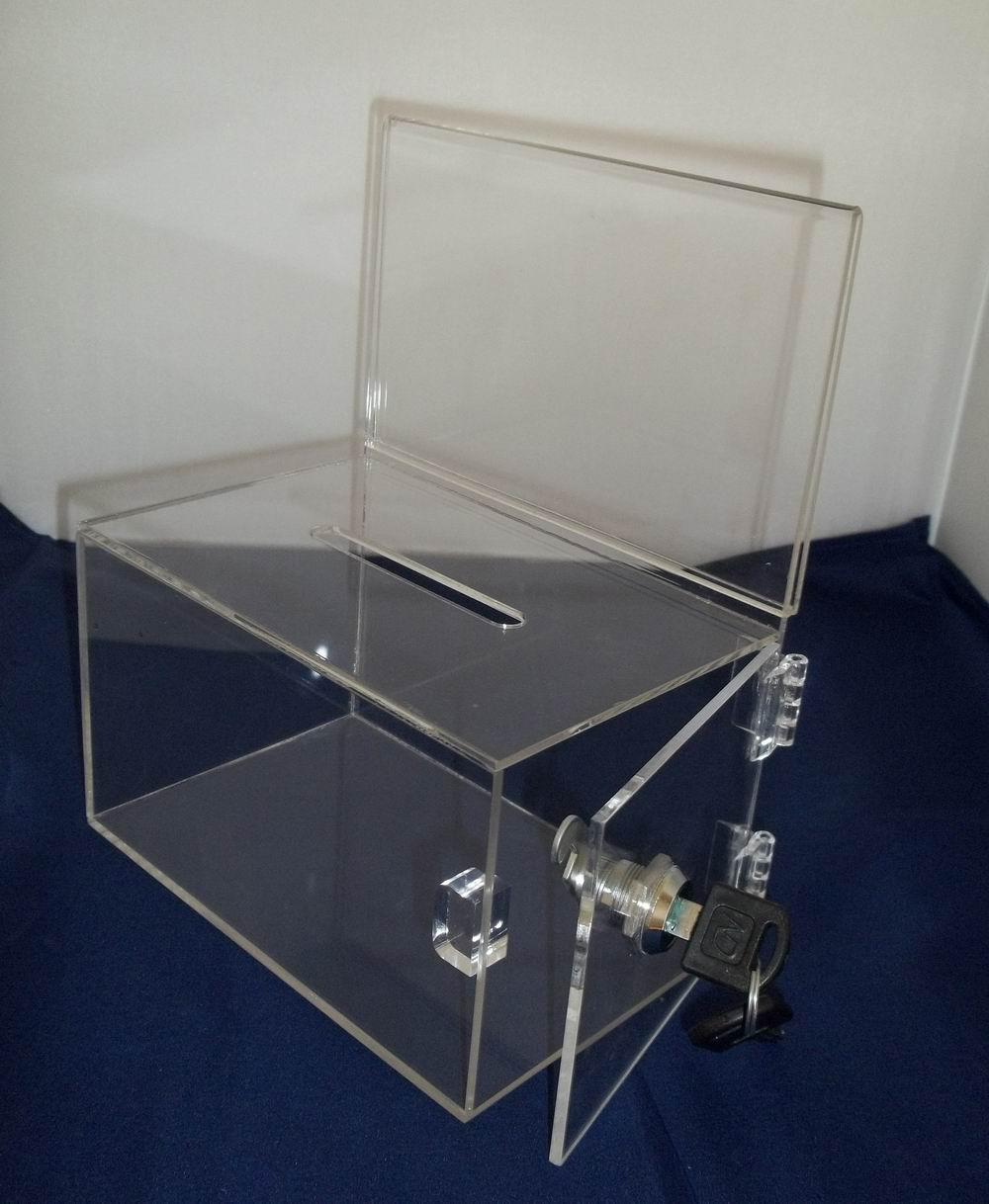 Acrylic offering boxes : Get cheap acrylic ballot box aliexpress