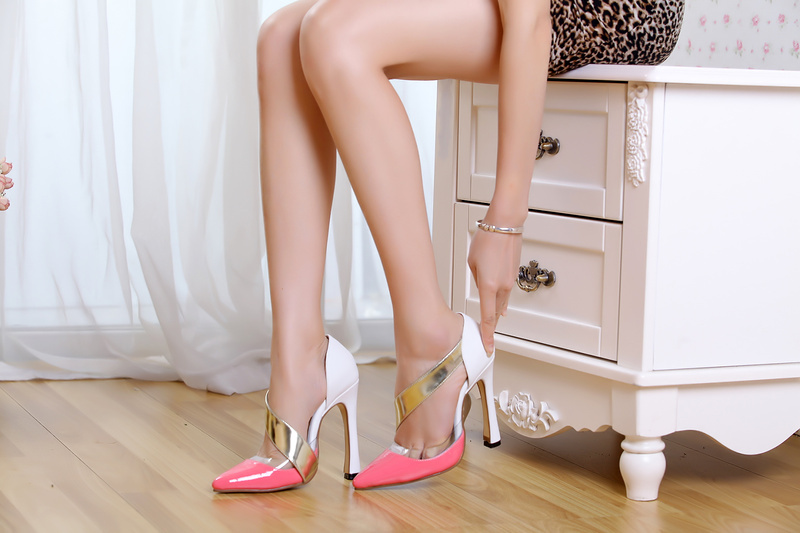 Euramerican style woman candy colors pumps sandals female simple high heels ladies summer party shoes - 2013 fushion store