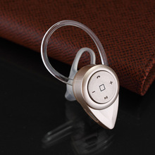 Universal Stereo Bluetooth headset Business gifts mini Earhook Voice Control for iphone handfree(China (Mainland))