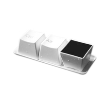 IG Wholesale Ctrl Alt Del Keyboard Coffee Cup Set White Set