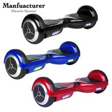 2 roues debout scooter électrique avec 4400 MA lithlium batterie max vitesse 18 km/H 2 roues debout planche à roulettes scooter électrique(China (Mainland))