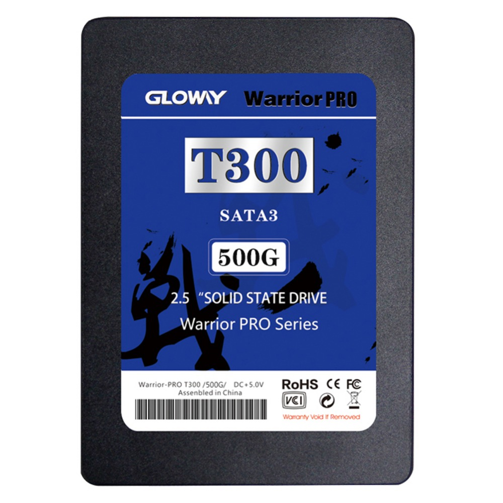 Gloway 500G SSD Solid State Disk Internal SSD Internal drive Sata3 TLC SSD SMI2256K Controller High Speed with 256MB Cache(China (Mainland))