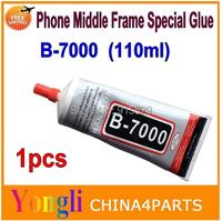 1pcs 110ml B7000 Multipurpose adhesive B7000 DIY Tool cellphone LCD Touch Screen middle Frame housing B-7000 Glue Free shipping