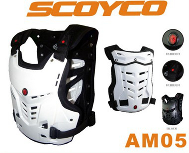 Genuine Scoyco AM05 Motocross Off Road Armor Racing Professional Motorcycle Armor Jacket Protective Gear(China (Mainland))