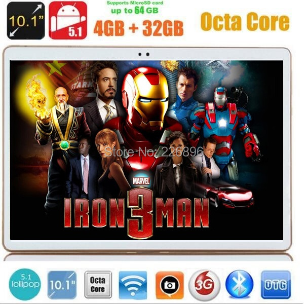 Free shipping 10 inch tablet pc Octa core 3G phone call 4G LTE 4GB RAM 32GB ROM 1280*800 IPS MID 7 9 10 Tablets(China (Mainland))