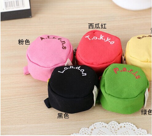 2014 Fashion New Women Wallet Canvas Letters Printed Cute Solid Coin purse Wallets Handbags Key Purse - Pear department store market in Yiwu