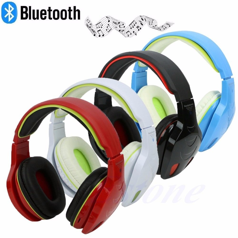 Wireless Bluetooth Headset Stereo FM Sport Headphone Earphone For iPhone for Samsung<br><br>Aliexpress