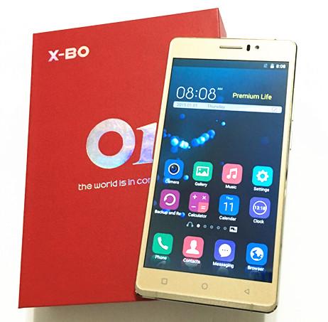 "2016 X-BO O1 6"" Android 5.1 MTK6580 Quad Core Mobile Phone 1GB RAM 8GB ROM Unlocked 3G WCDMA QHD IPS 8MP CAM 3200mAh(China (Mainland))"