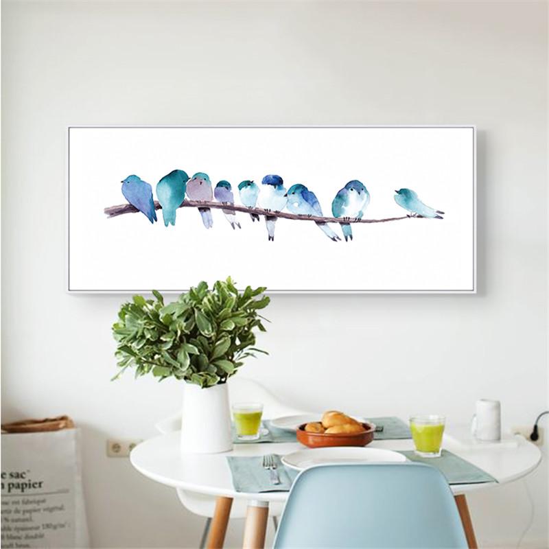 Affiches oiseaux promotion achetez des affiches oiseaux promotionnels sur ali - Affiches decoration interieure ...