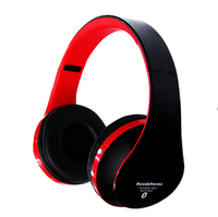 High quality Stereo Sound Noise Canceling Wireless Stereo music Bluetooth Headphone Headset With Mic support TF Card