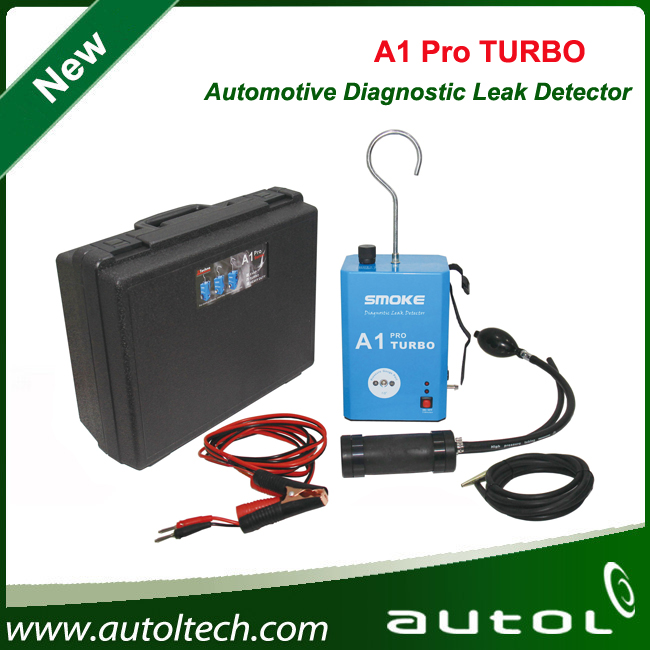 2016 New Arrival A1 Pro TURBO Automotive Diagnostic Leak Detector Smoke Powerful Tool to Fast Check System Leaks(China (Mainland))