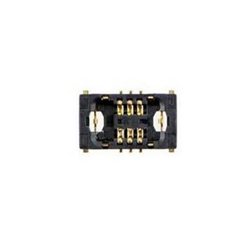 Здесь можно купить  50pcs/lot for iPhone 6 plus 5.5 volume mute fpc connector J0802 motherboard mainboard connector  Электронные компоненты и материалы