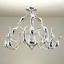 Modern LED Chandelier swan light 15 heads foyer led decoration lights lamp for living room kitchen lighting Guaranteed 9162(China (Mainland))