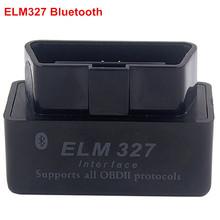 2016 Latest Mini ELM327 Auto Scanner ELM 327 Bluetooth OBD2 for Android Torque OBDII Car V2.1 Vehicle Scan Diagnostic Tool LR20