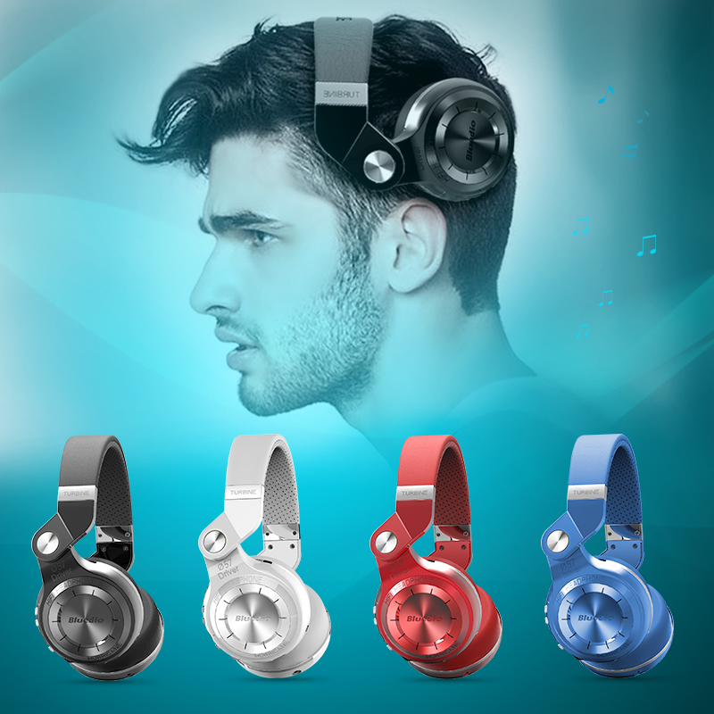 Bluedio T2+ foldable over the ear bluetooth headphones BT 4.1 support FM radio& SD card functions Music&phone calls headset(China (Mainland))