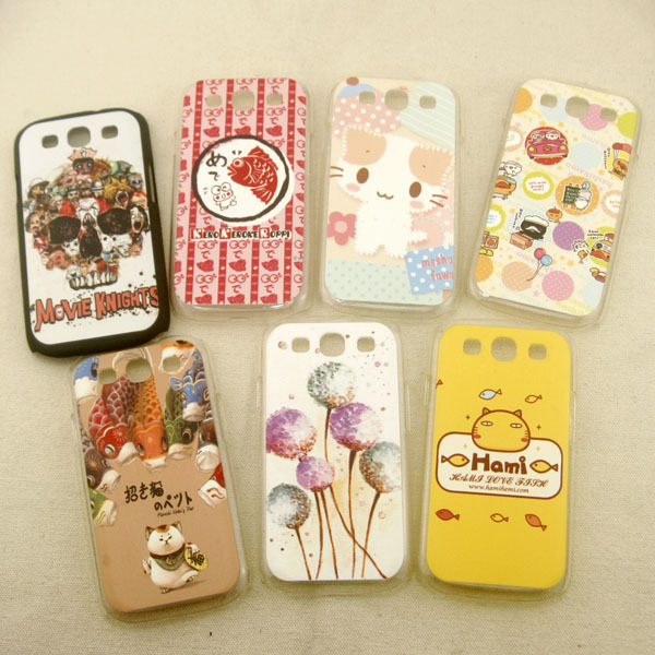 For SamSung S3 9300 phone case cartoon cute hard lovely back cover protector case(China (Mainland))