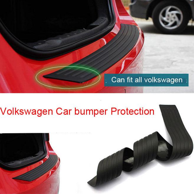 Rubber car bumper protection car sticker for VK Volkswagen Passat CC BORA Tiguan Toureg Touran(China (Mainland))