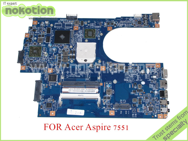 48.4HP01.011 MBBKM01001 MB.BKM01.001 motherboard for acer aspire 7551 7551G laptop main board ATI HD5470 DDR3 100% tested(China (Mainland))