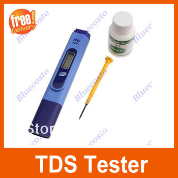 Digital LCD TDS Meter Water Quality Purity Tester Filter Set with Plastic Storage Case