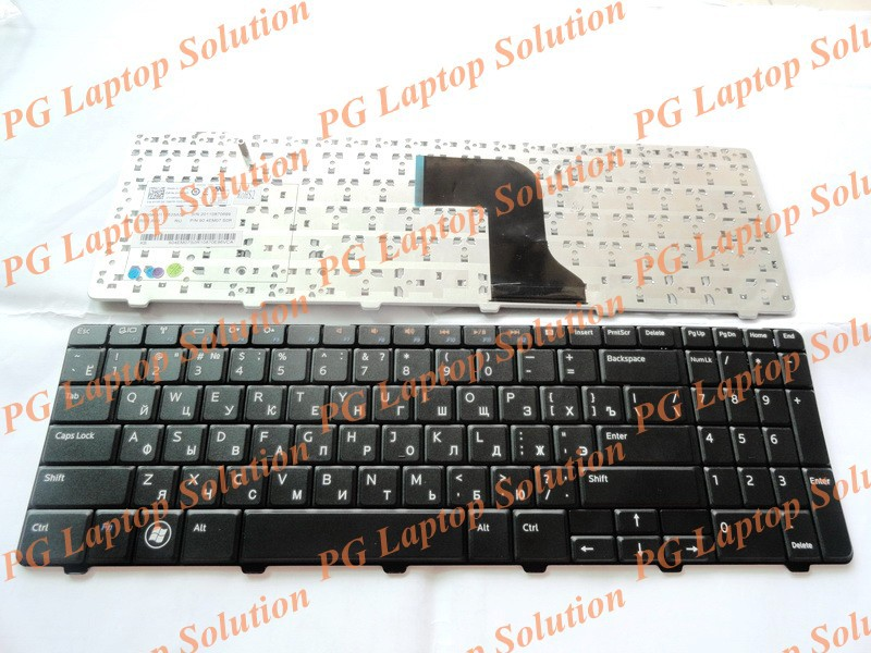 Russian Keyboard for Dell Inspiron 15 15R N M 5010 N5010 M5010 RU Black laptop keyboard(China (Mainland))