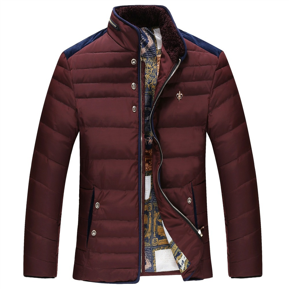 2015 Fall And Winter Jacket Men Clothes New Men S Warm Down Jacket Coat Slim Parka