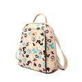 Fashion Casual Ladies Backpack 2016 New Trendy Graffiti Letters Print Travel Bag Women High Quality Zipper