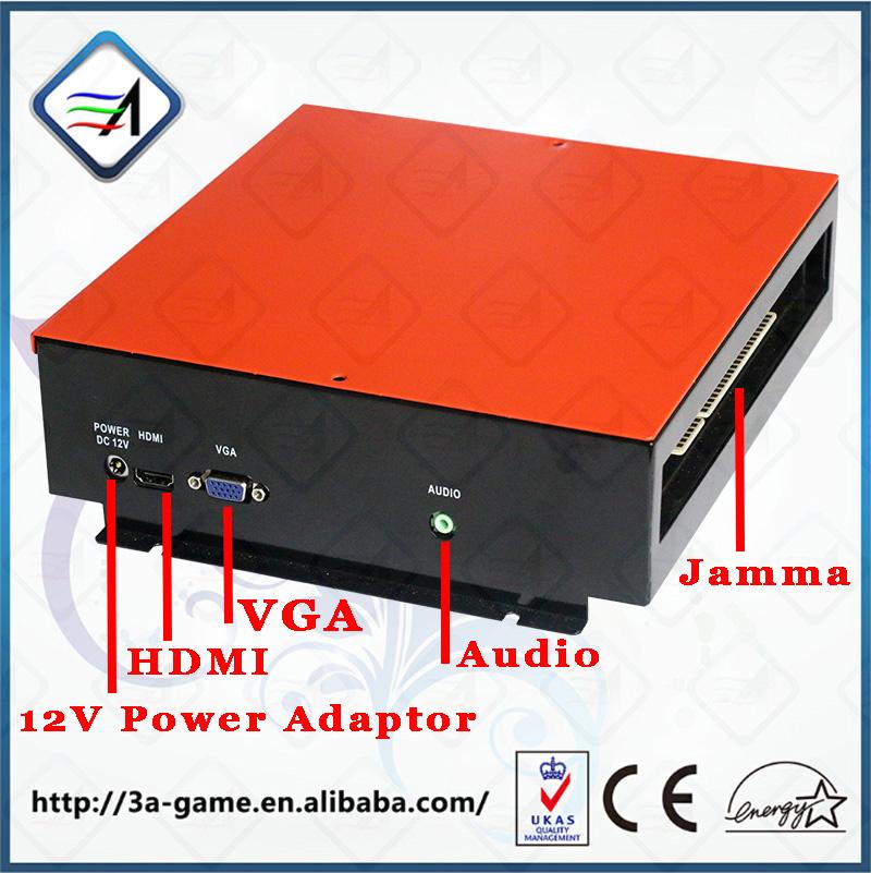 Jamma Game Console Kit Vertical Screen Shooting Motherboard Raiden V Simulator Shooting Arcade Game Console Kit for Game Machine(China (Mainland))