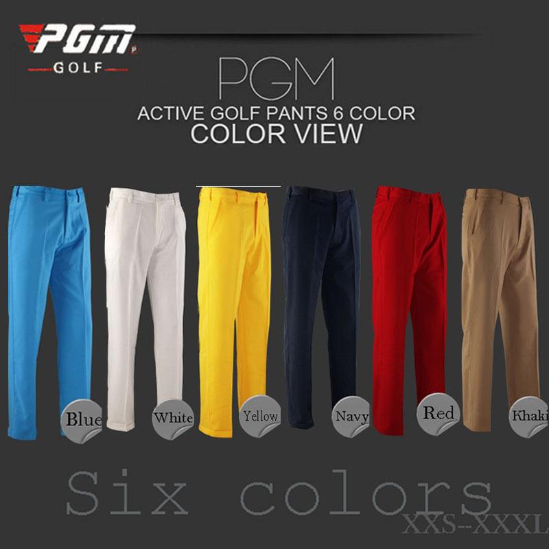 2014PGM authentic golf pants men's trousers Golf apparel autumn paragraph shorts
