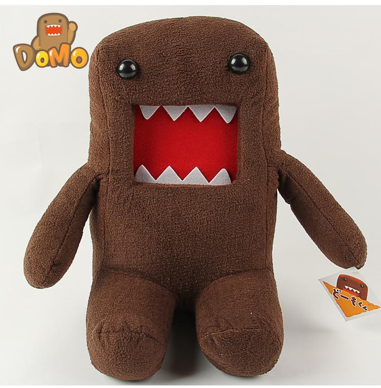 Domokun Funny  2015 Hot Sale 18CM Domo-kun Doll Children Novelty Creative Gift the Kawaii Domo Kun Plush Toys For Kids<br><br>Aliexpress