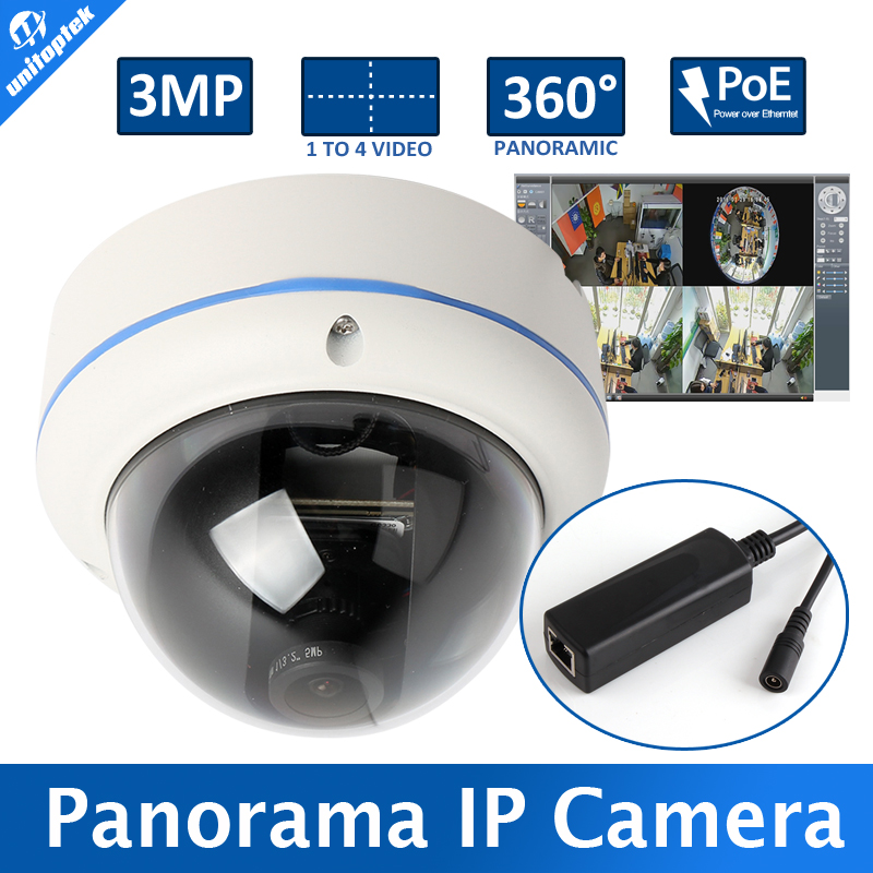 M3881C HD Outdoor Fisheye Panorama 3MP IP Camera POE Module 180/360 Degree Wide Angle CCTV Camera Dome Security Camera Onvif(China (Mainland))