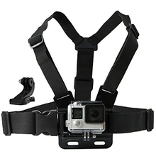 Buy Chest Mount Harness belt Accessories Gopro hero 5 SJCAM SJ4000 Go Pro Action camera Strap J mount sport camera 10 for $5.12 in AliExpress store