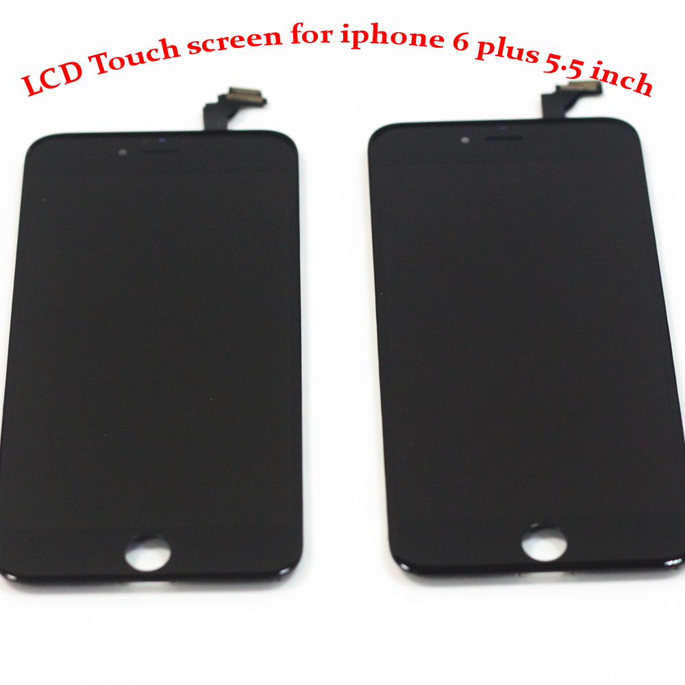 100% Original Brand New 5.5 inch Lcd Display Touch Screen Black for iphone 6 Plus Lcd Digitizer Replacement with Tools Assembly(China (Mainland))