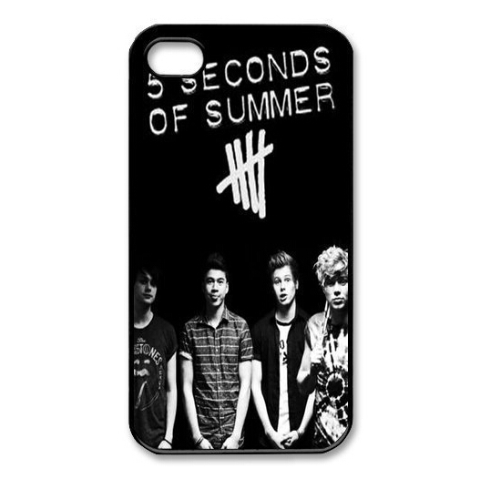 5 Seconds Of Summer popular Protective Cover Case For iPhone 5C(China (Mainland))