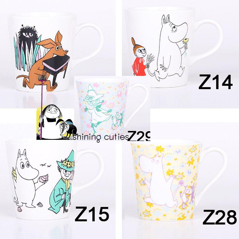 Nice Moomin Muumi Little My Japan Cute Cartoon Milk Drinking Breakfast Mug Cup Birthday Gift(China (Mainland))