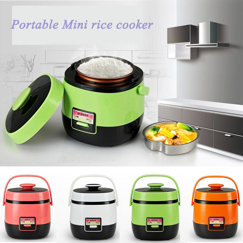 new arrival 1 2l mini rice cooker multifunctional electric. Black Bedroom Furniture Sets. Home Design Ideas