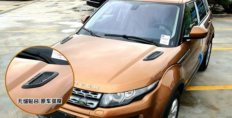 Фотография Roof Hood Air Flow Decorative Engine Vent Cover For Range Rover Evoque / Discovery 3