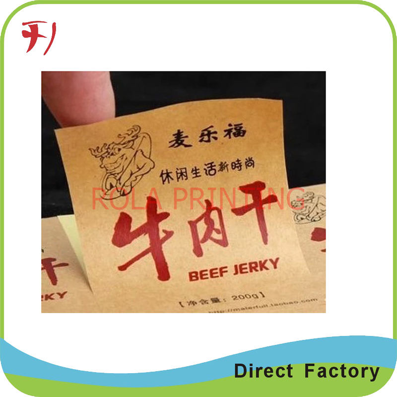 Customized packaging sticker label roll adhesive roll sticker for plastic bottle(China (Mainland))