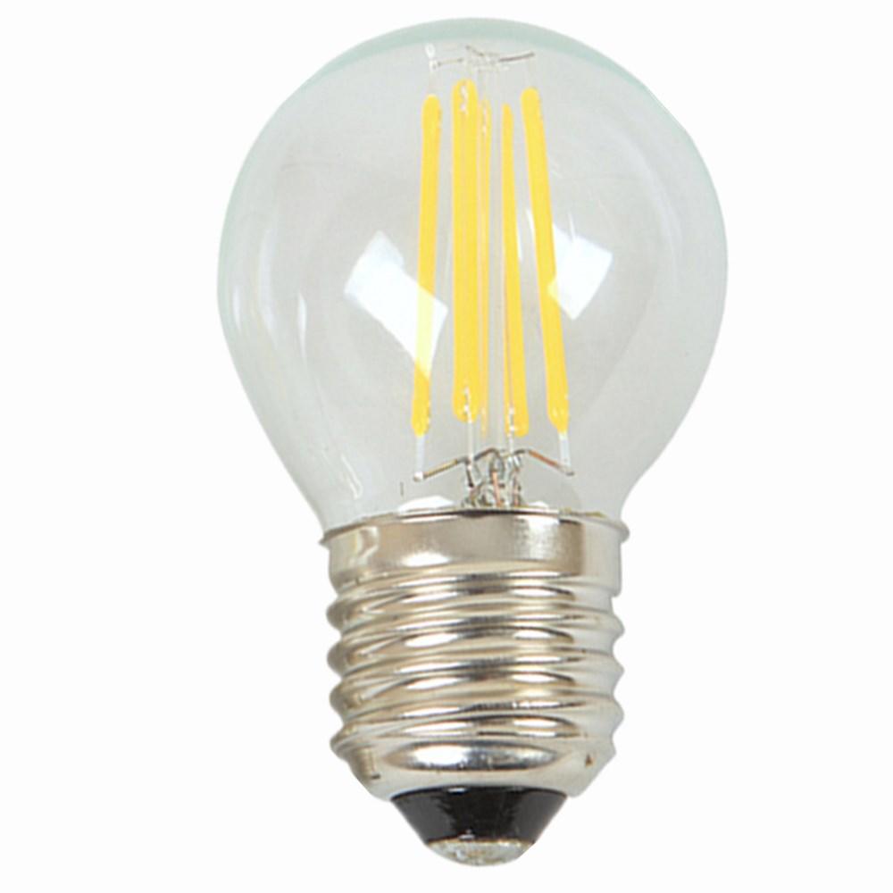 Led filament e27 e14 light bulb 2W 4W Edison AC 230V glass safety retro 200LM 400LM warm wool white 2015 6 pcs lot(China (Mainland))