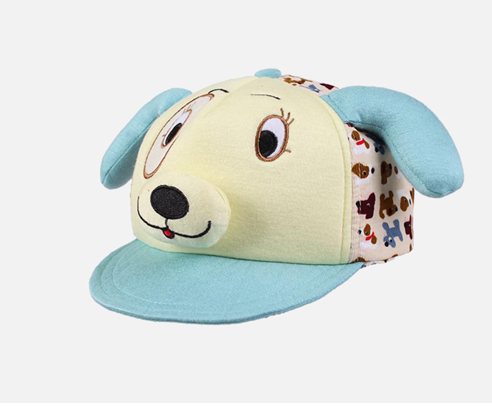 Kenmont brand Children Kids Baby Boys Girls Cute Baseball Caps 100% Cotton Visor Dog Animal Caps 4855(China (Mainland))