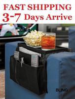 1pcs/lot Black Sofa Arm Rest Organizer Storage Bag OPP Bag Pkg Free CN Post Shipping Only $6.99