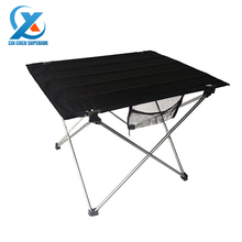 1pc Outdoor Folding Table Ultra-light Aluminum Alloy Structure Portable Camping Table Furniture Foldable Picnic Table(China (Mainland))