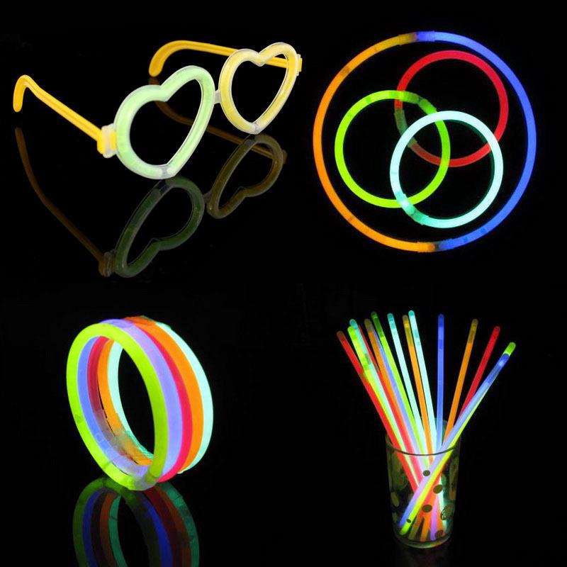 Halloween Props Christmas Celebration Festivity Ceremony Flashing Stick Fluorescent Bracelets,Glow sticks,LED Toys For Party