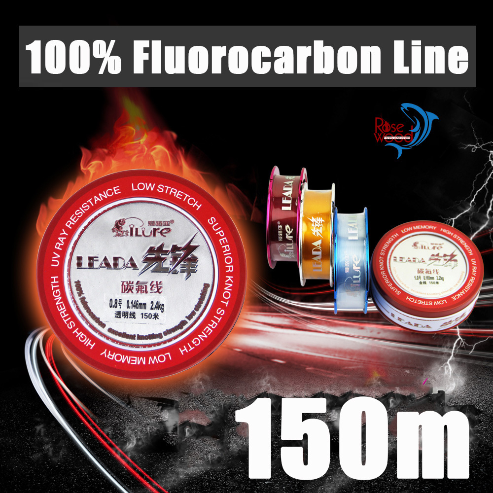 2015 cheap high quality fishing line fluorocarbo line japan 150m metal box line fluorocarbon fishing materail linha de pesca(China (Mainland))