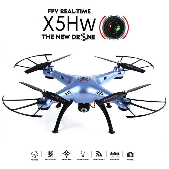 Syma X5HW 2.4G 4CH 6Axis FPV Real Time With 0.3MP Camera RC Quadcopter