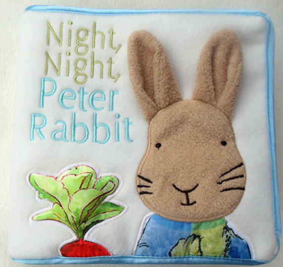 Cute baby cloth book night rabbit Baby Educational toys -w231 - Online Store 527385 store