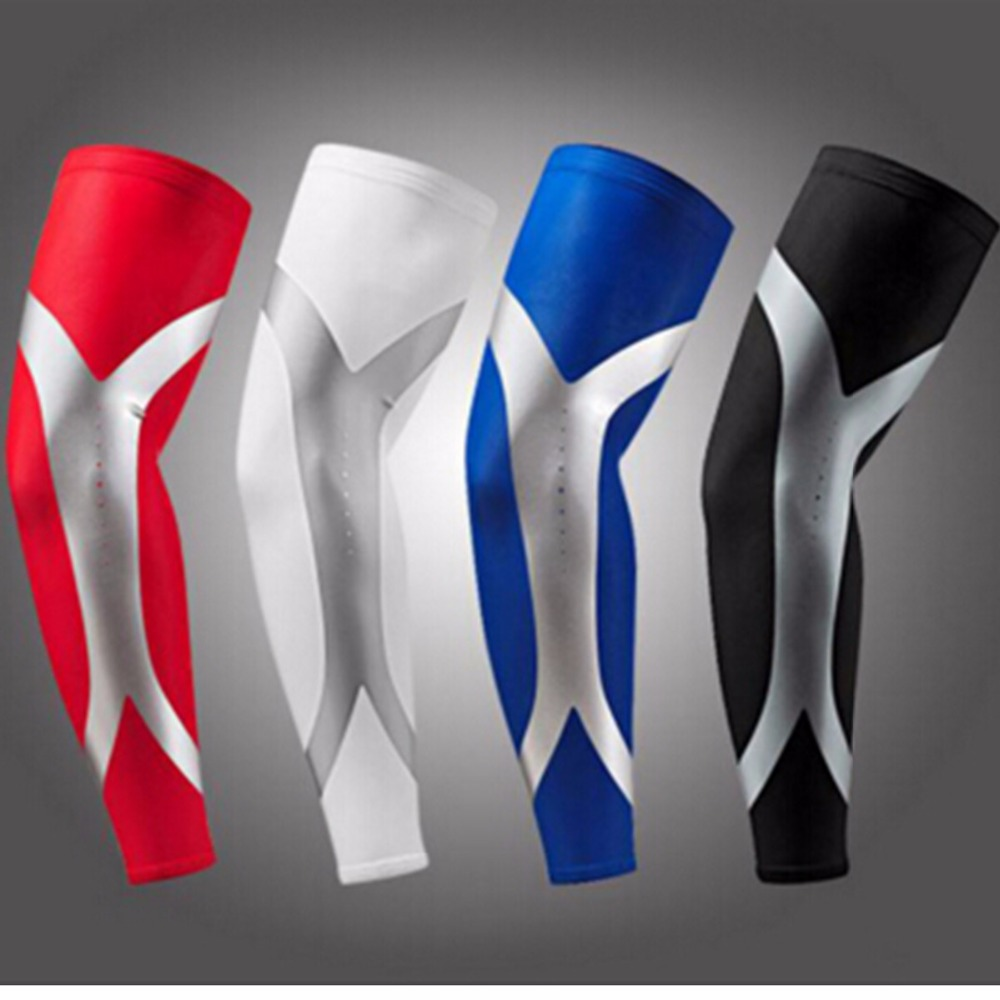 2016 100% Newest Arrival High Elastic Quick Dry Dwight Howard Sport Elbow Arm Warmers Pad Long Arm Sleeve Support Basketball(China (Mainland))